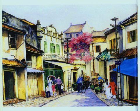 Những ngõ phố Hà Nội