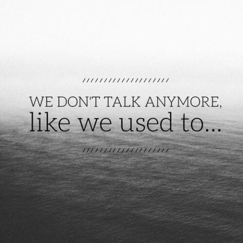 Chúng ta chẳng còn nói với nhau điều gì…