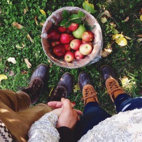 Em muốn sống cùng anh trong vườn táo
